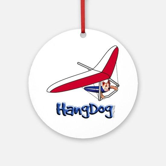 Hangdog Ornament