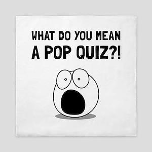 Pop Quiz Queen Duvet