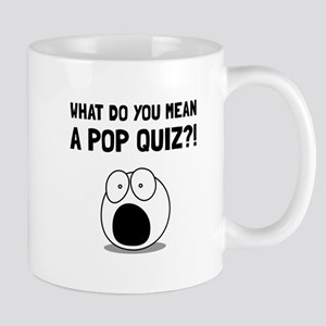Pop Quiz Mugs