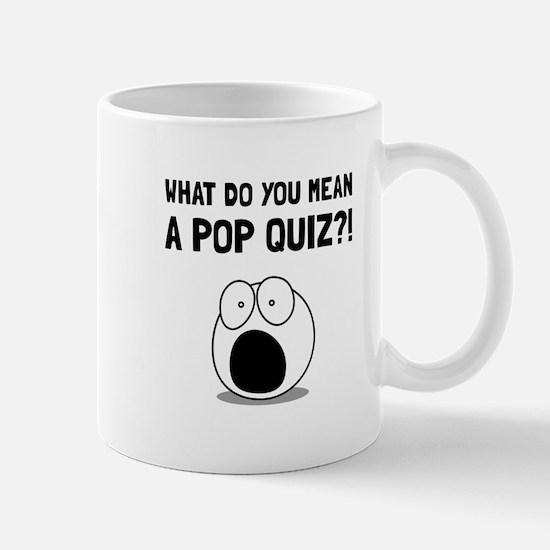 Pop Quiz Mugs