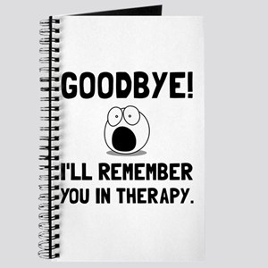 Remember You In Therapy Journal