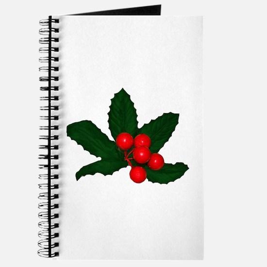 Holly Berries Journal