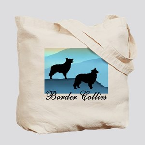 Blue Mt. Border Collies Tote Bag