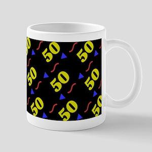 50th Birthday Celebration Mug