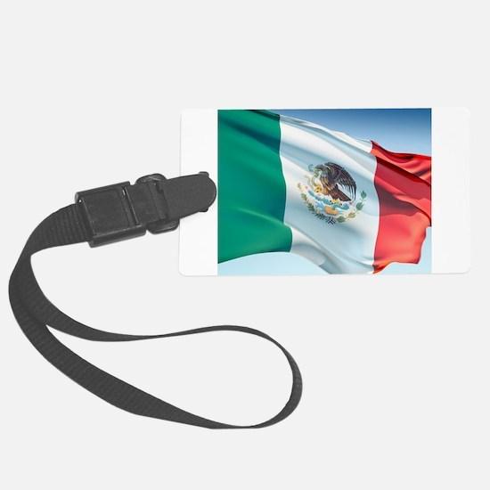 Mexican Flag Luggage Tag