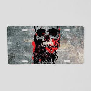 Deadhead Aluminum License Plate