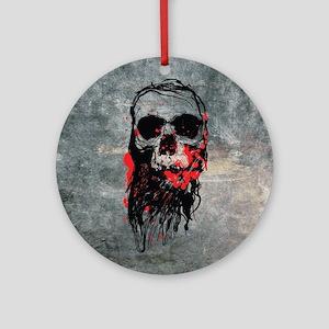 Deadhead Ornament (Round)