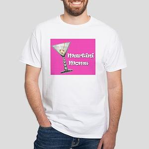 Martini Moms White T-Shirt