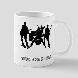 Custom Rock Band Mugs