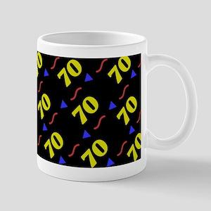 70th Birthday Celebration Mug