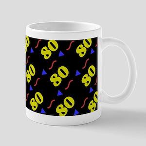 80th Birthday Celebration Mug