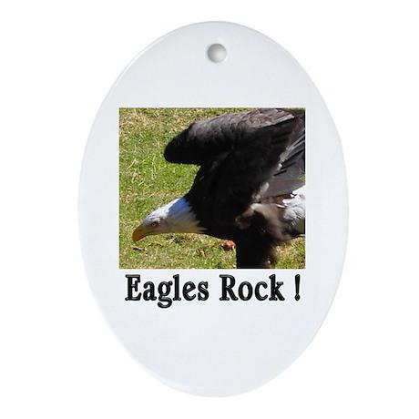 Eagles Rock ! Oval Ornament