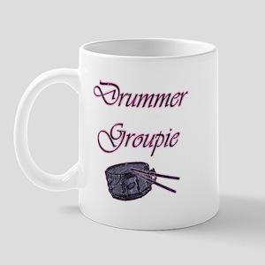 """Drummer Groupie"" Mug"