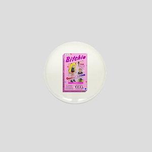 Coulter Bitchie Doll Mini Button