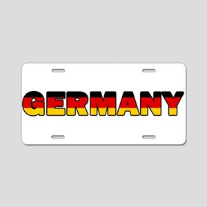 Germany 001 Aluminum License Plate