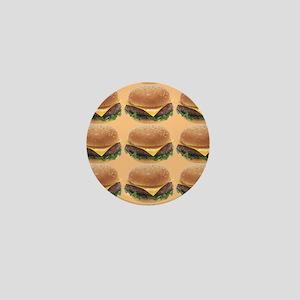 Burger Mini Button