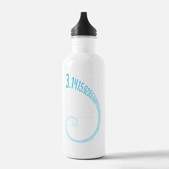 Fibonacci Pi Water Bottle