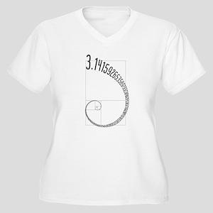 Fibonacci Pi Plus Size T-Shirt
