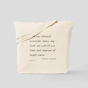 Nietzsche on Dance Tote Bag