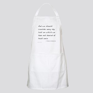Nietzsche on Dance BBQ Apron