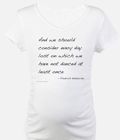 Nietzsche on Dance Shirt