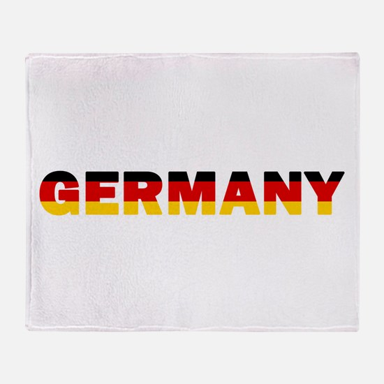 Germany 002 Throw Blanket