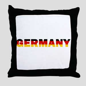 Germany 002 Throw Pillow