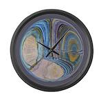 Spiritual Pane Large Wall Clock