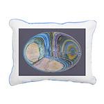 Spiritual Pane Rectangular Canvas Pillow