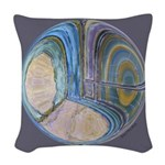 Spiritual Pane Woven Throw Pillow