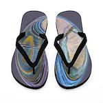 Spiritual Pane Flip Flops