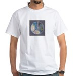 Spiritual Pane White T-Shirt