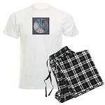 Spiritual Pane Men's Light Pajamas