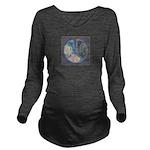Spiritual Pane Long Sleeve Maternity T-Shirt