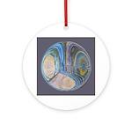 Spiritual Pane Ornament (Round)
