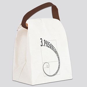 Fibonacci Pi Canvas Lunch Bag