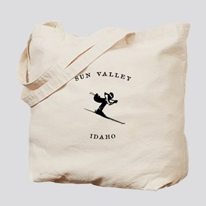 Sun Valley Idaho Ski Tote Bag
