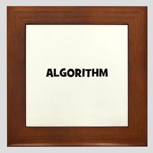 Algorithm Framed Tile