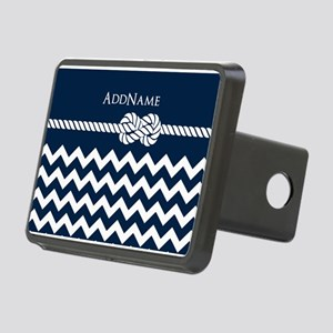Chevron Rope Knot Personal Rectangular Hitch Cover