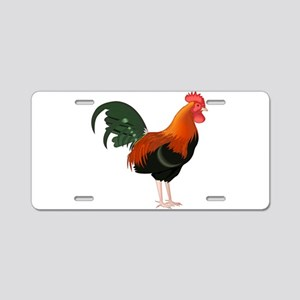 King of the Roost Aluminum License Plate