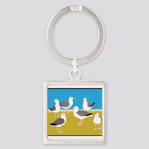 Gang of Seagulls Keychains