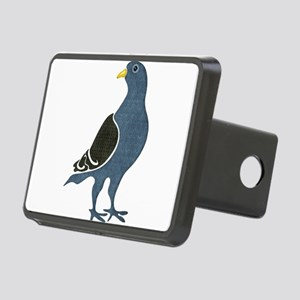 Fashionista Pigeon copy Rectangular Hitch Cover