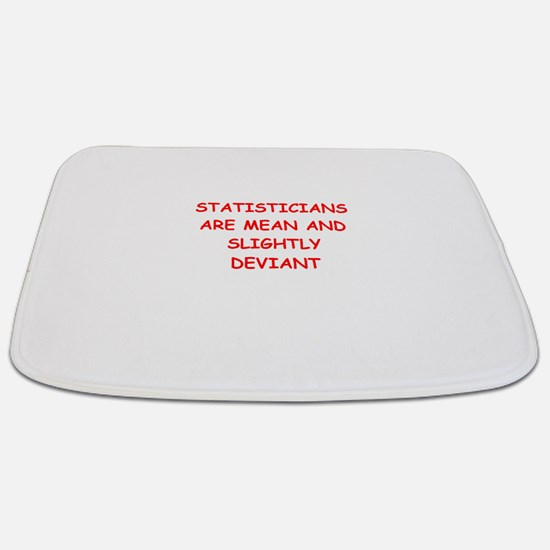 statistics Bathmat