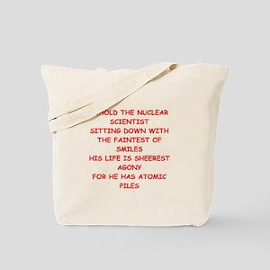 nuclear scientist Tote Bag