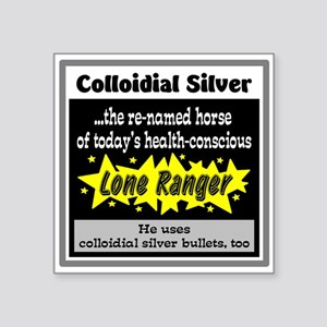 Colloidial Silver Sticker