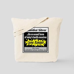 Colloidial Silver Tote Bag