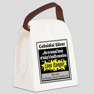 Colloidial Silver Canvas Lunch Bag