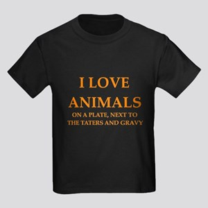 ANIMALS Kids Dark T-Shirt