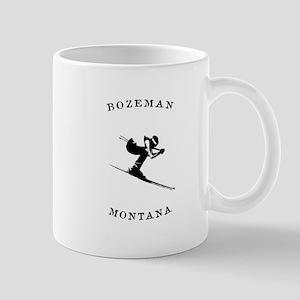 Bozeman Montana Ski Mugs