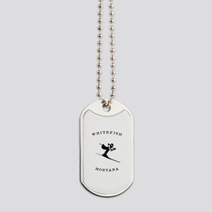 Whitefish Montana Ski Dog Tags